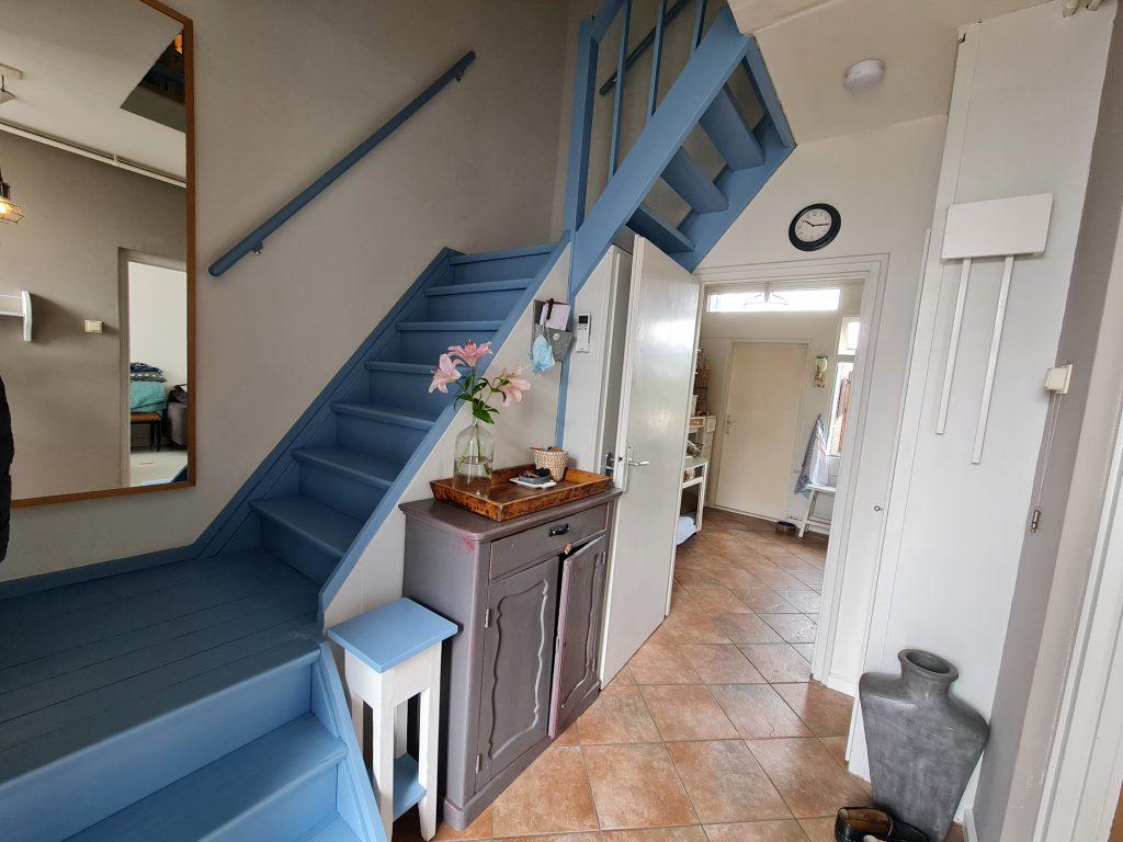 De geschilderde trap